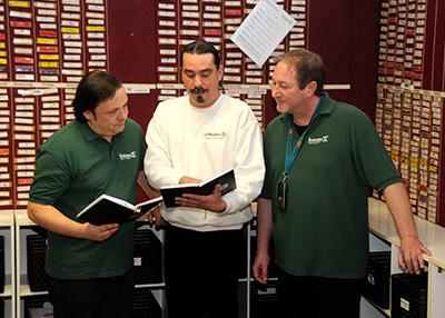 Aufnahme von den drei Humanitas-Geschäftsführern Herrn Schnaß, Herrn Tejkl und Herrn Hannich